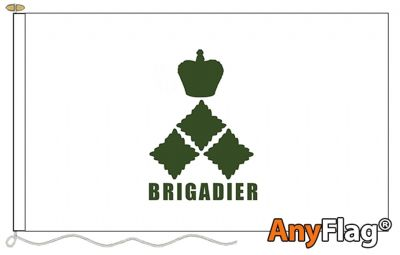 - BRIGADIER WHITE ANYFLAG RANGE - VARIOUS SIZES
